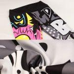SVOKOR-Leggings-pintados-con-dibujos-animados-para-mujer-mallas-deportivas-Push-Up-con-grafiti-pantalones-de-5